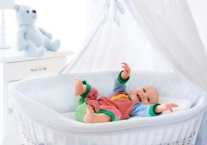 using bassinet for small space